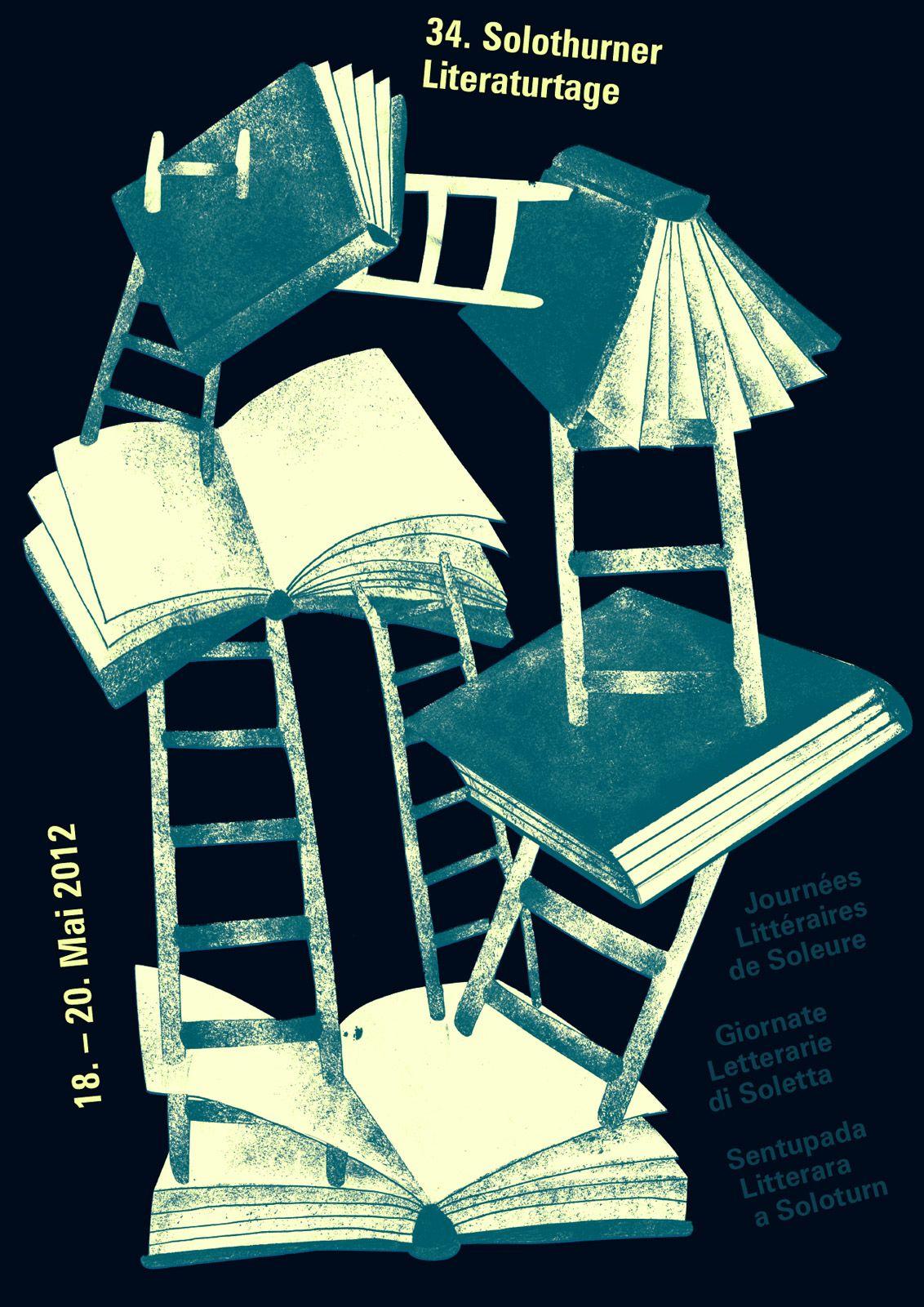 Plakat für die 34. Solothurner Literaturtage