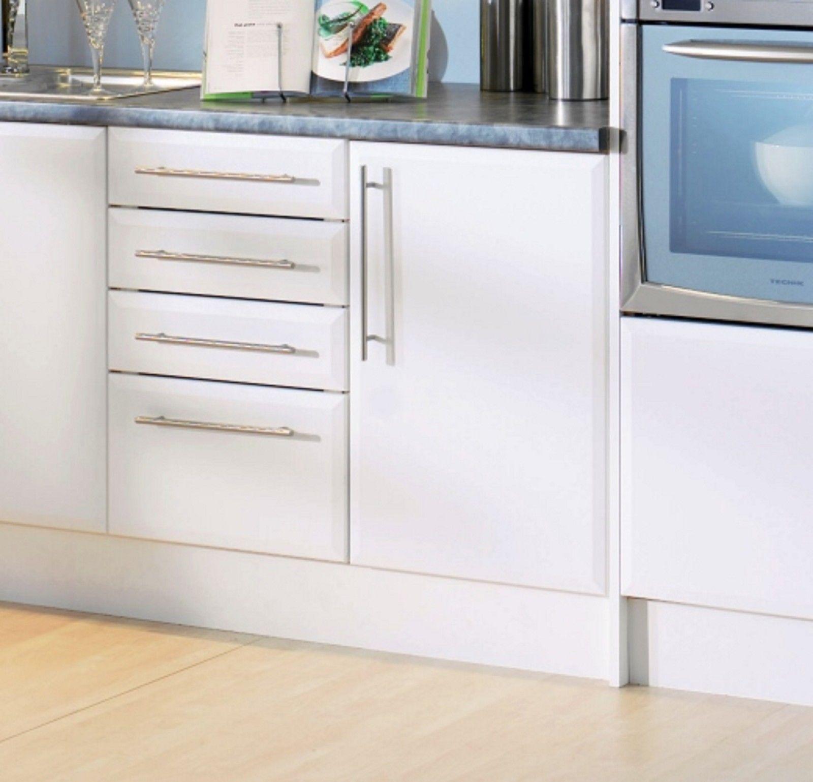 White Kitchen Cupboards B&q