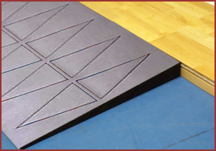 Courtedge Rubber Transition Ramp Athletic Court Reducer Transition Ramp Ada Ramp Transition Strips Transitional Home Decor