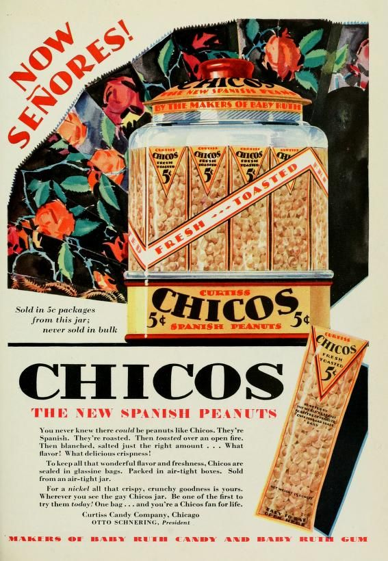 Chicos Spanish Peanuts