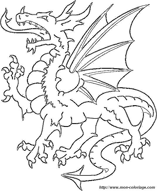 Picture Dragon4 Dragon Coloring Page Coloring Books Coloring Pages