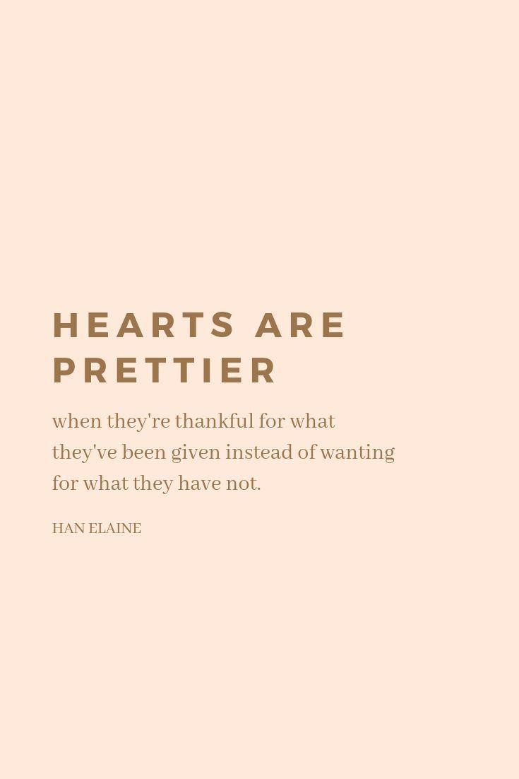 Hearts are Prettier | Inspiring words