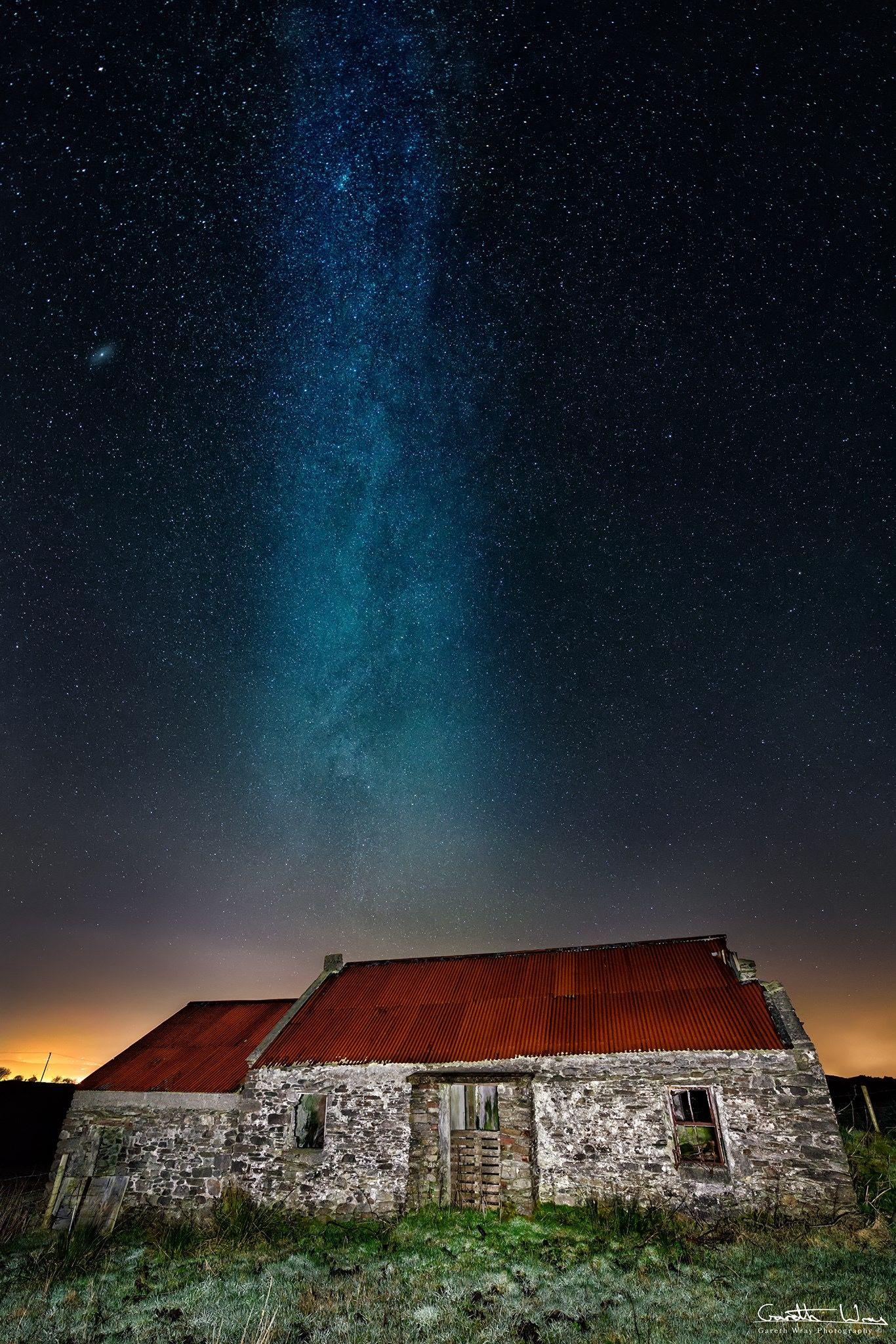 Pin By Kennis Martin On Beautiful Milky Way Images Irish Landscape Night Skies