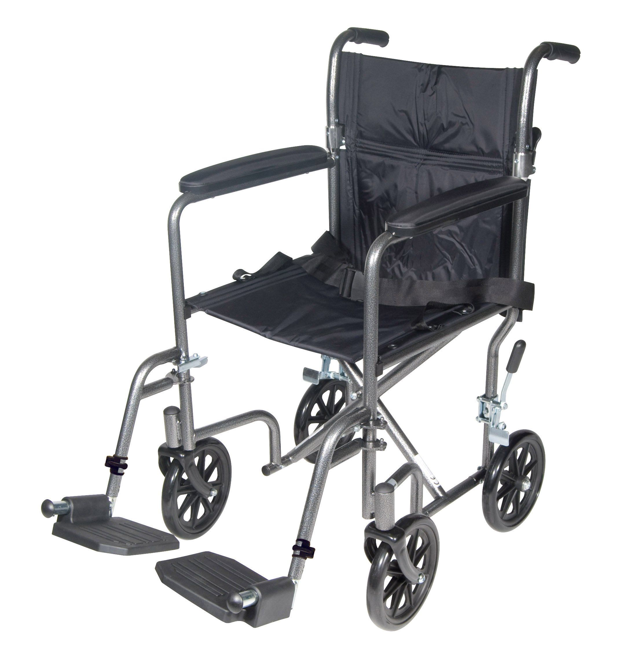 Amazon 96 71 Drive Medical Lightweight Steel Transport Wheelchair Fixed Full Arms 17 Quot Seat Transport Wheelchair Lightweight Wheelchair Wheelchair