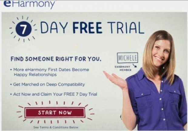 Eharmony 7 day free trial