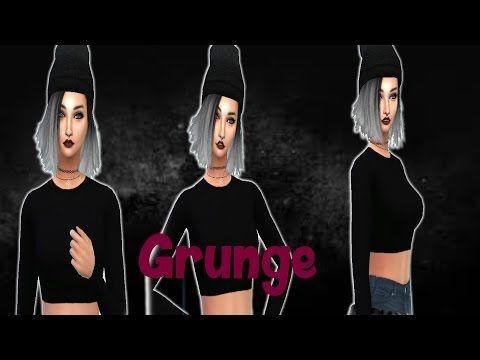 The Sims 4 ~ Create A Sim ~ Grunge - http://music.tronnixx.com/uncategorized/the-sims-4-create-a-sim-grunge/