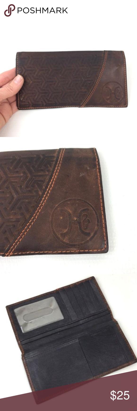 HOOey Walnut Rodeo Wallet