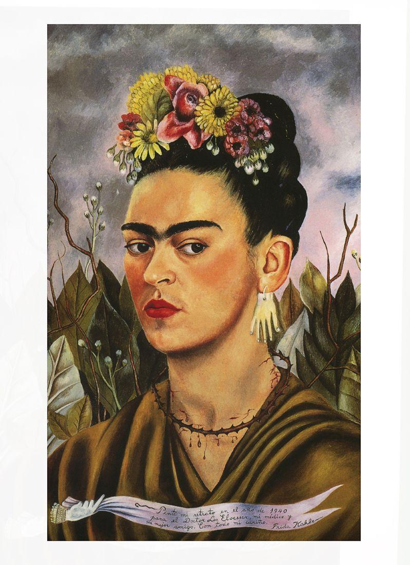Frida Kahlo, Self-Portrait Dedicated to Dr. Eloesser, 1940 ...
