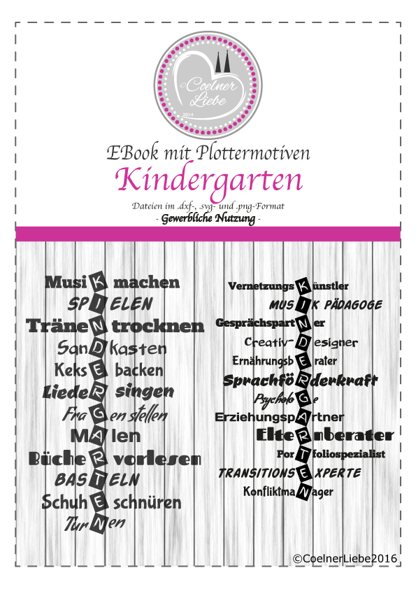 kindergarten freebie kiga tasche danke erzieher erzieherin geschenk jahresabschlu. Black Bedroom Furniture Sets. Home Design Ideas
