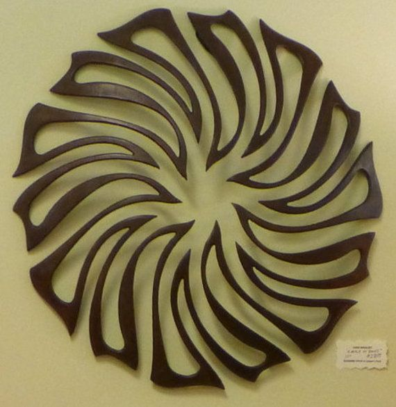 """Metal Art Wall Relief  """"Circle of Doves""""- 20""""  by John Woolsey as shown in Suzanne Fitch showroom in Leiper's Fork, Franklin, TN, $280.00 Buy on Etsy"""