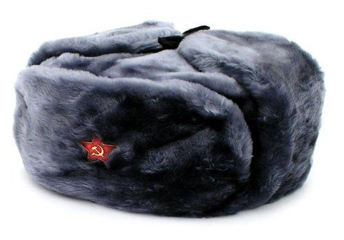 70a2f03e901c2 ... for such winter army hats. Authentic Russian Military Gray Ushanka Hat  Red Star Hammer and Sickle Size  LARGE     Learn more by visiting the image  link.