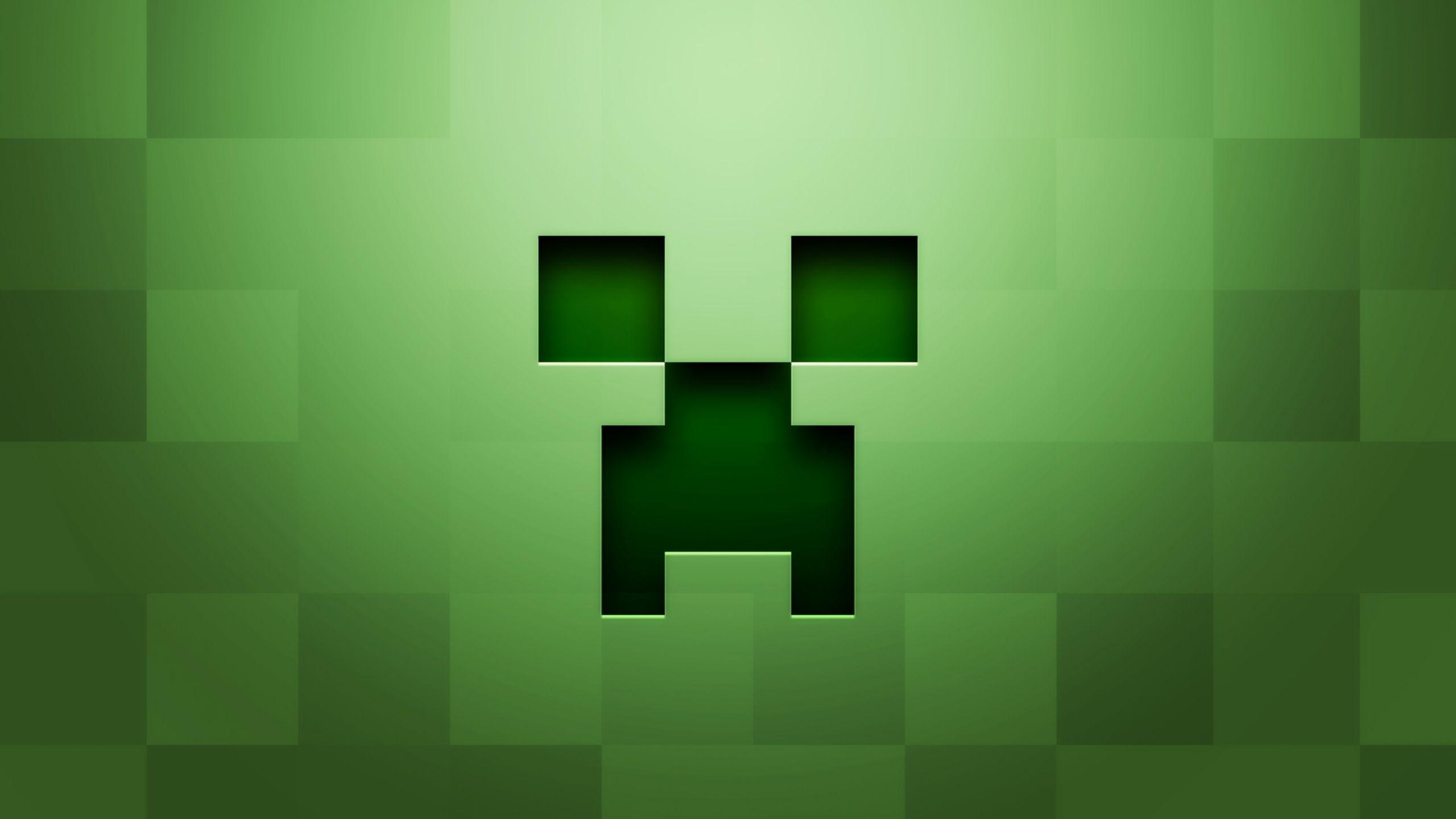 Download Wallpaper 2560x1440 Minecraft Background Graphics