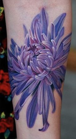 25c4c1ed5 purple flower by Phil Garcia | tattoo artist – Port Hueneme Ca, USA ...