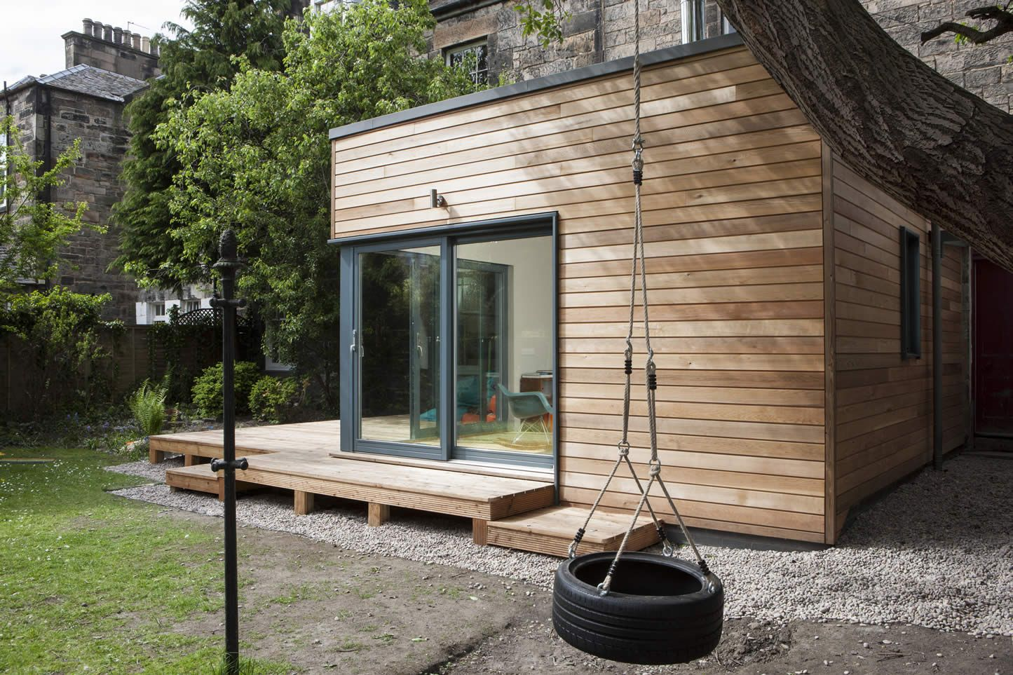 Helen lucas architects edinburgh project garden room for Garden room definition