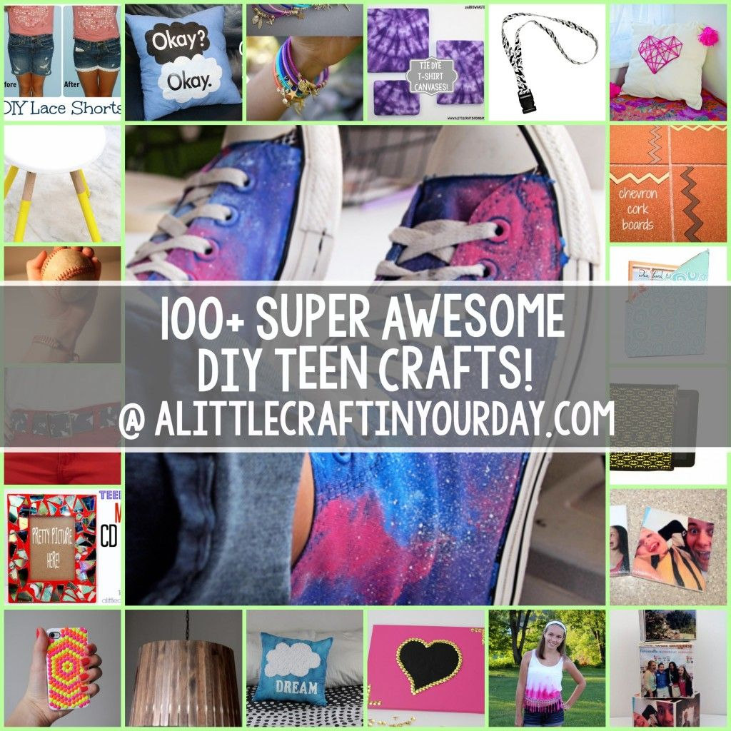 Cool Easy Crafts For Your Room Part - 31: 100+ Super Awesome Crafts For Teens