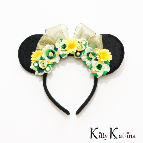 Princess Tiana Hair: Princess Tiana Mouse Ears Headband, Princess And The Frog