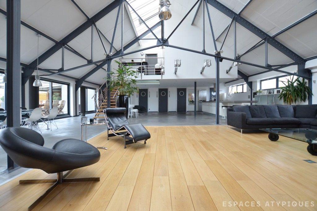 lille loft new yorkais espaces atypiques lille pinterest loft maison et loft industriel. Black Bedroom Furniture Sets. Home Design Ideas