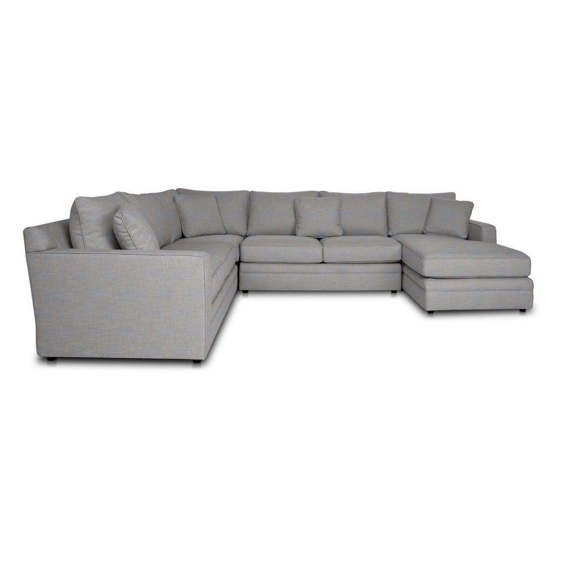 Andersen 6 Seat Fabric Corner Modular Sofa W Right Chaise Size W 358cm X D 277cm X H 100cm In Cloud Fabric Foam Fibre Freedom Modular Sofa Sofa Cloud Fabric