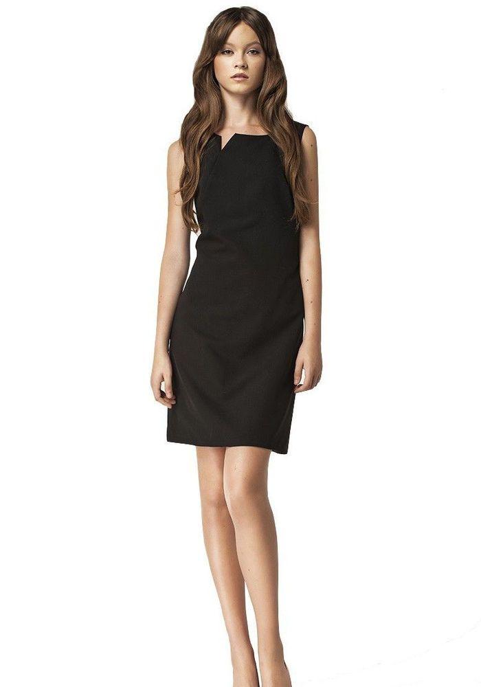 Robe noir courte femme