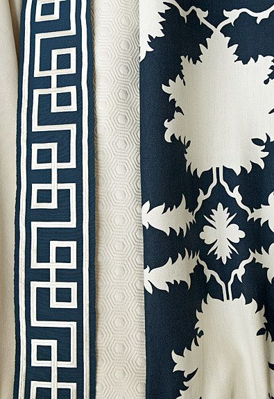 "Mary McDonald for Schumacher ""Octavius""  Flat Trim by the yard"