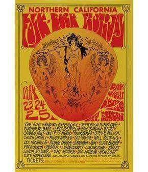 Northern California Folk Rock Festival. Santa Clara County Fairgrounds. San Jose, California. May 23rd - 25th 1969.