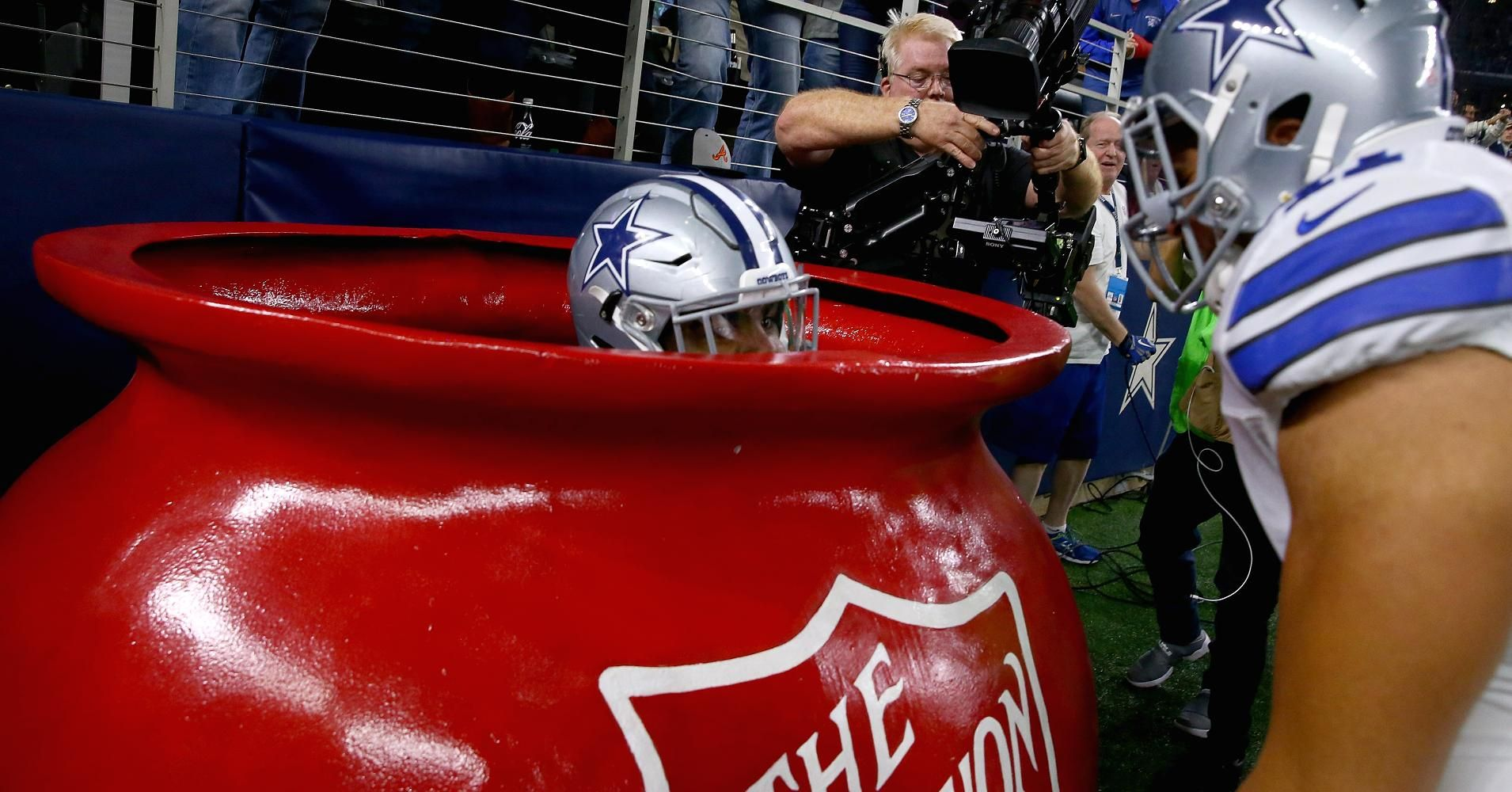 Salvation Army donations up 61 after Cowboy Elliott jumps