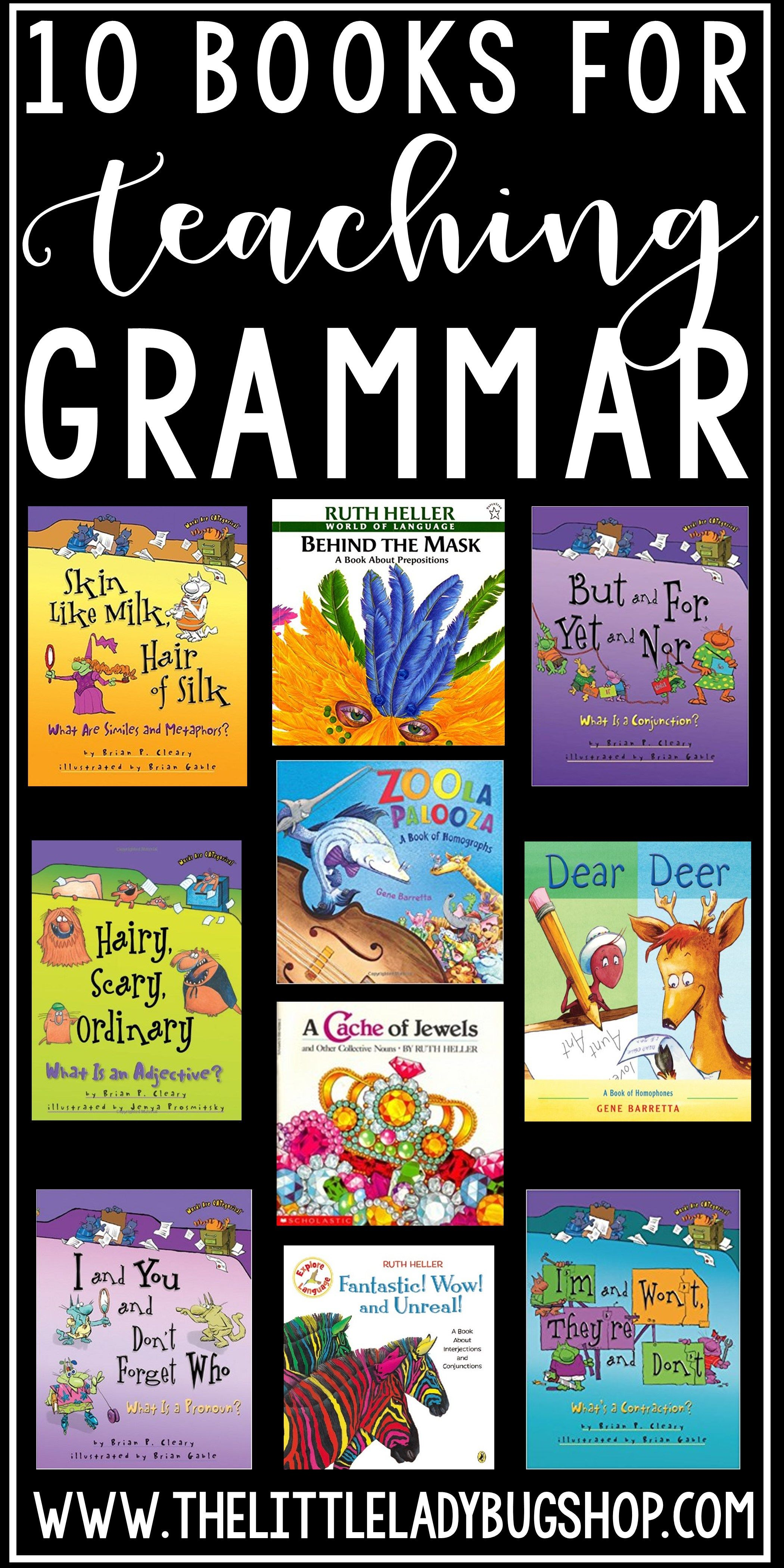 Tips for Teaching Grammar to Elementary Students | Books ...