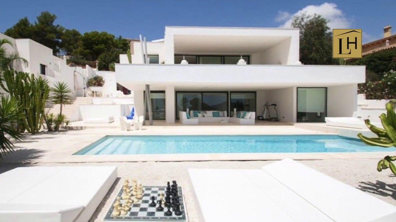 Luxhome Ibiza Vende Casa Con Piscina Privada Ubicada Dentro De Exclusiva Comunidad Privada En La Costa Sur Con Impresionantes Vistas Al Mar Porroig Isla De Fo