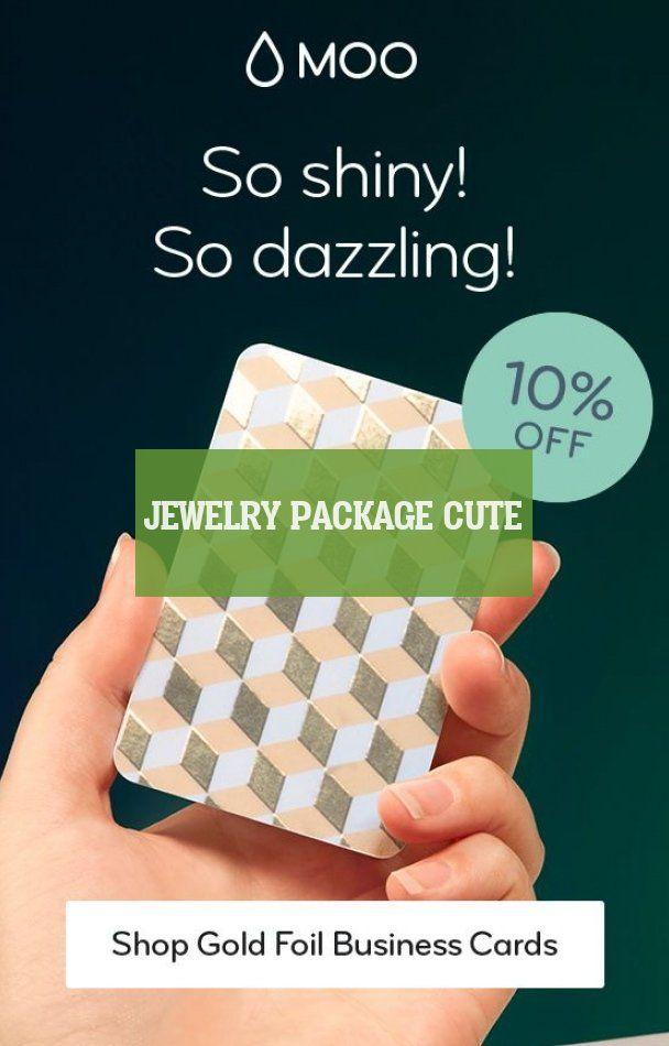 jewelry package Cute