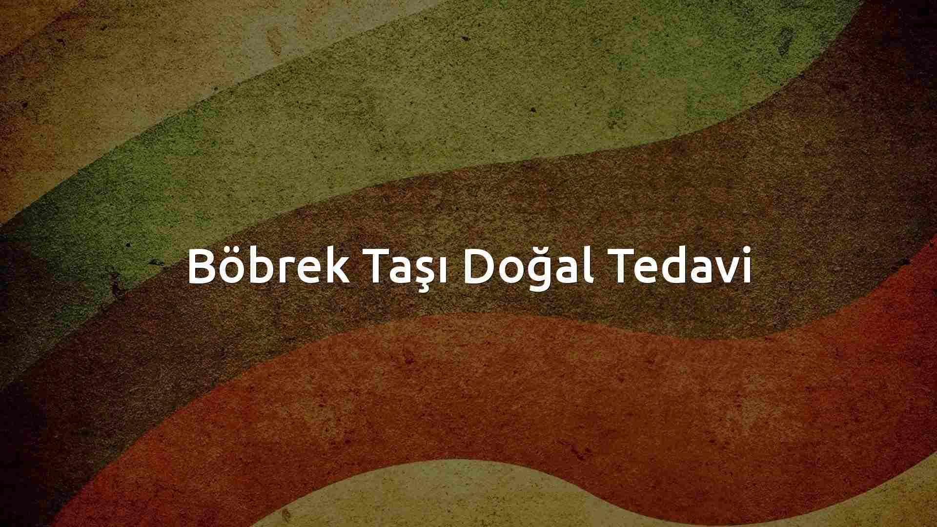 İbrahim Saraçoğlu Böbrek Taşı Kürü Tarifi