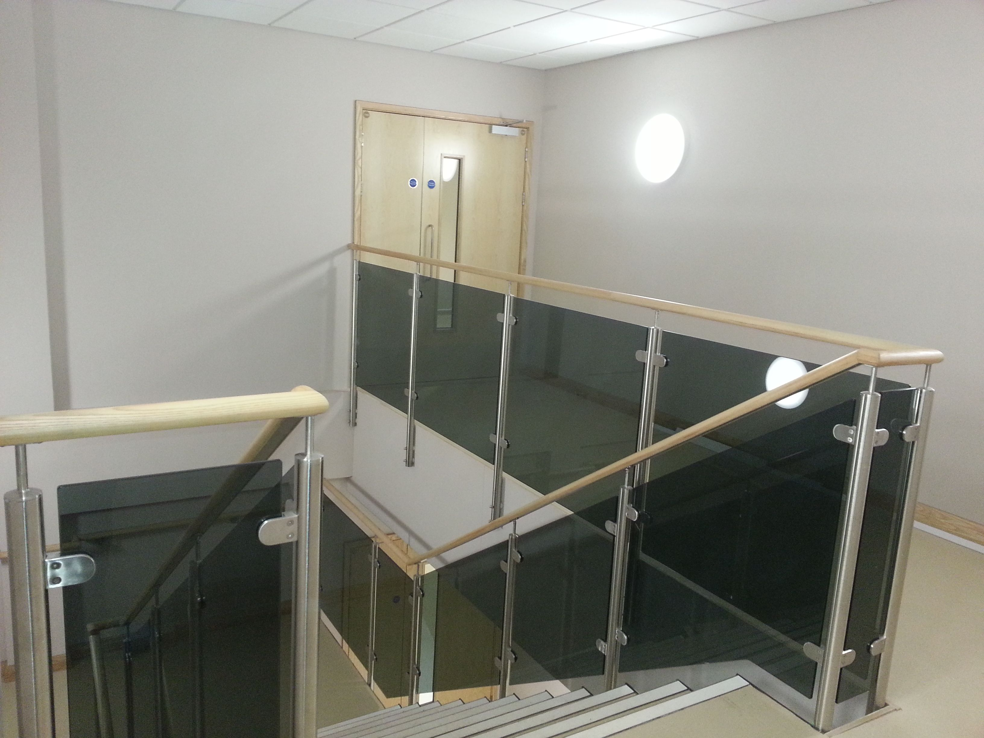 Best Staircase And Landing Glass Balustrade System Complete 400 x 300