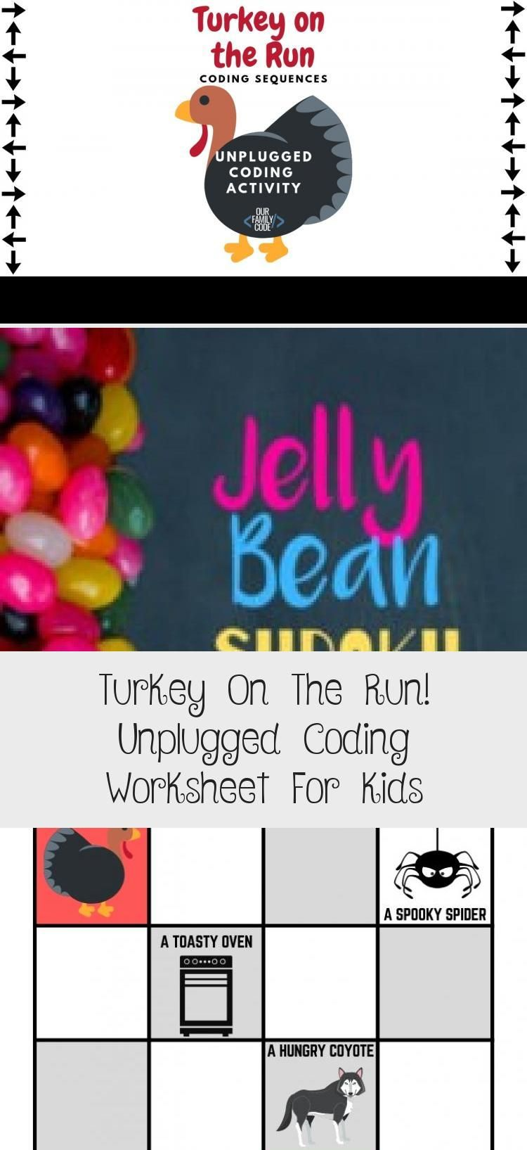 Find The Correct Sequence To Help Turkey Escape Before He Becomes Thanksgiving Dinner In T Unplugged Coding Activities Worksheets For Kids Reasoning Activities [ 1635 x 750 Pixel ]