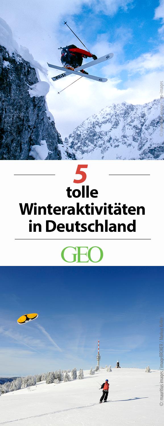 Reisetipps Fünf coole Wintererlebnisse in Deutschland