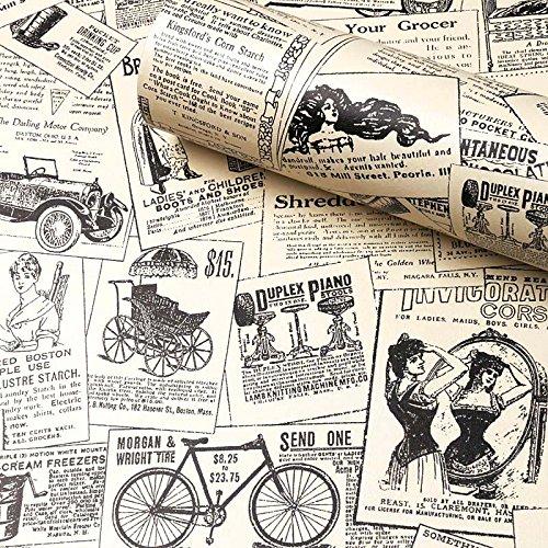 Pin By Tara Chan On Living Room Newspaper Wallpaper Peel And Stick Wallpaper Paintable Wallpaper