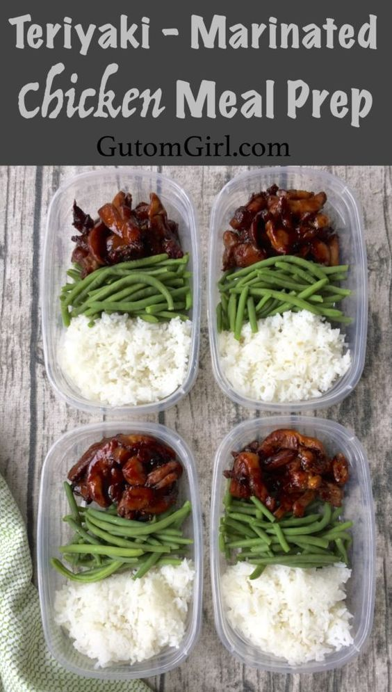 Teriyaki Marinated Meal Prep
