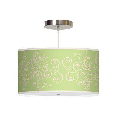 ATG Signature Lamps PL00 Thao Large Pendant, Flat White