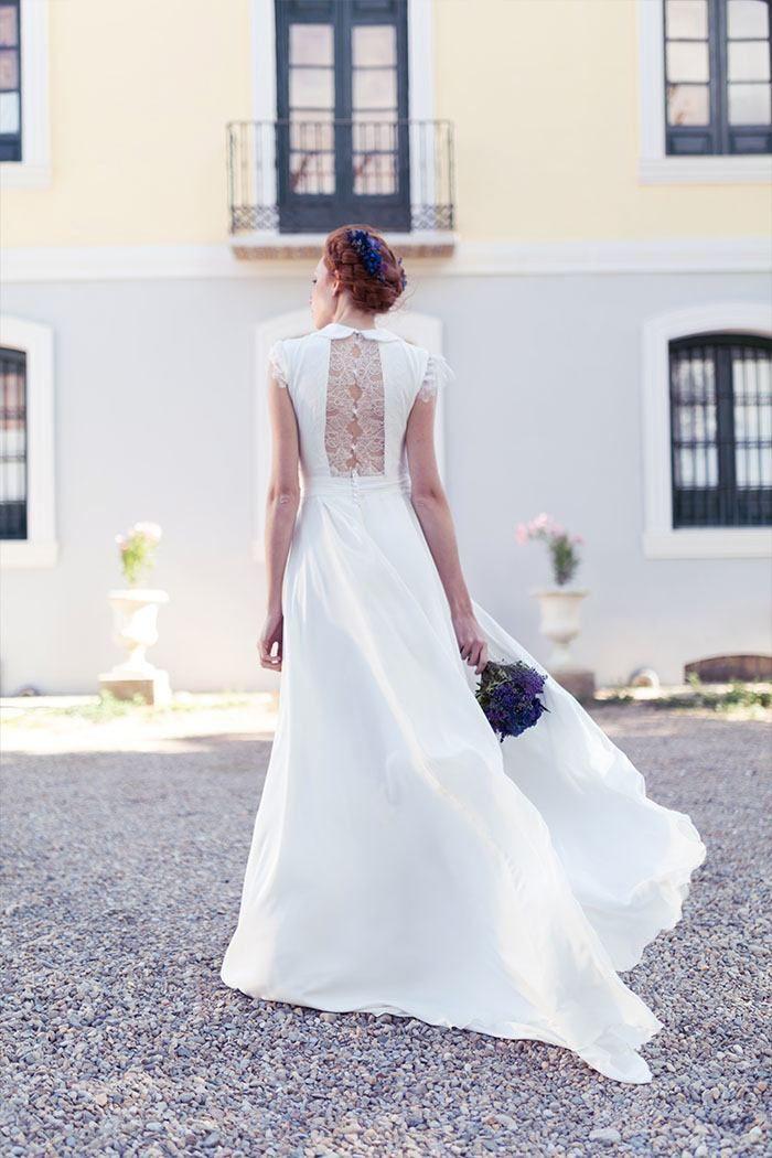 diseñadora de vestidos de novia personalizados a medida en 2019