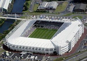Liberty Stadium Swansea City Voetbalstadions Swansea Schansspringen