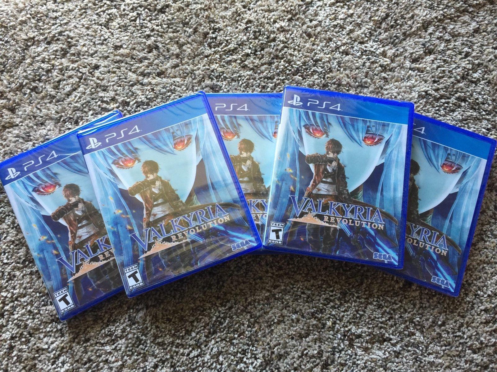 Valkyria Revolution (Sony PlayStation 4, 2017) PS4 NEW