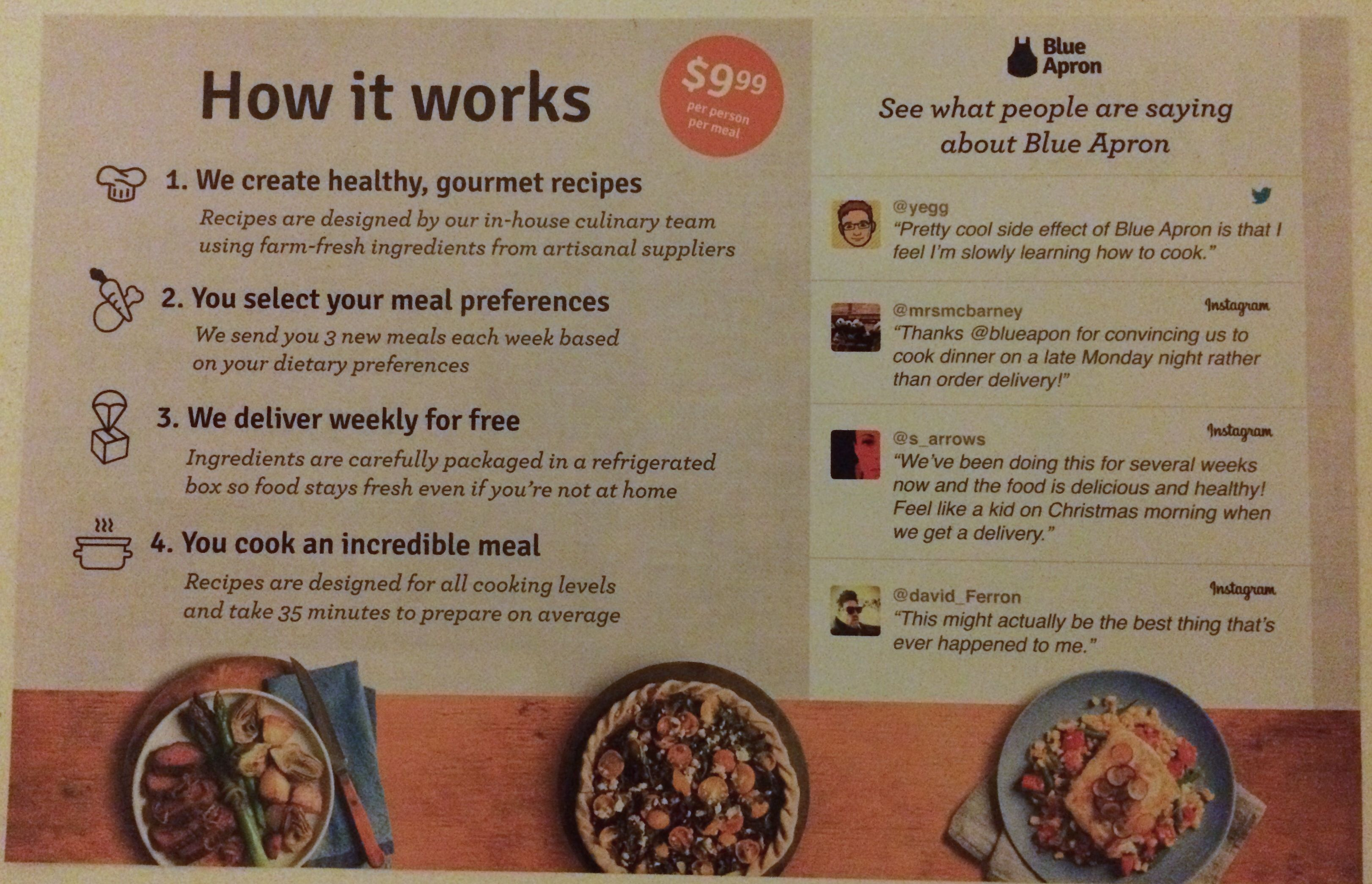 Blue apron opt out