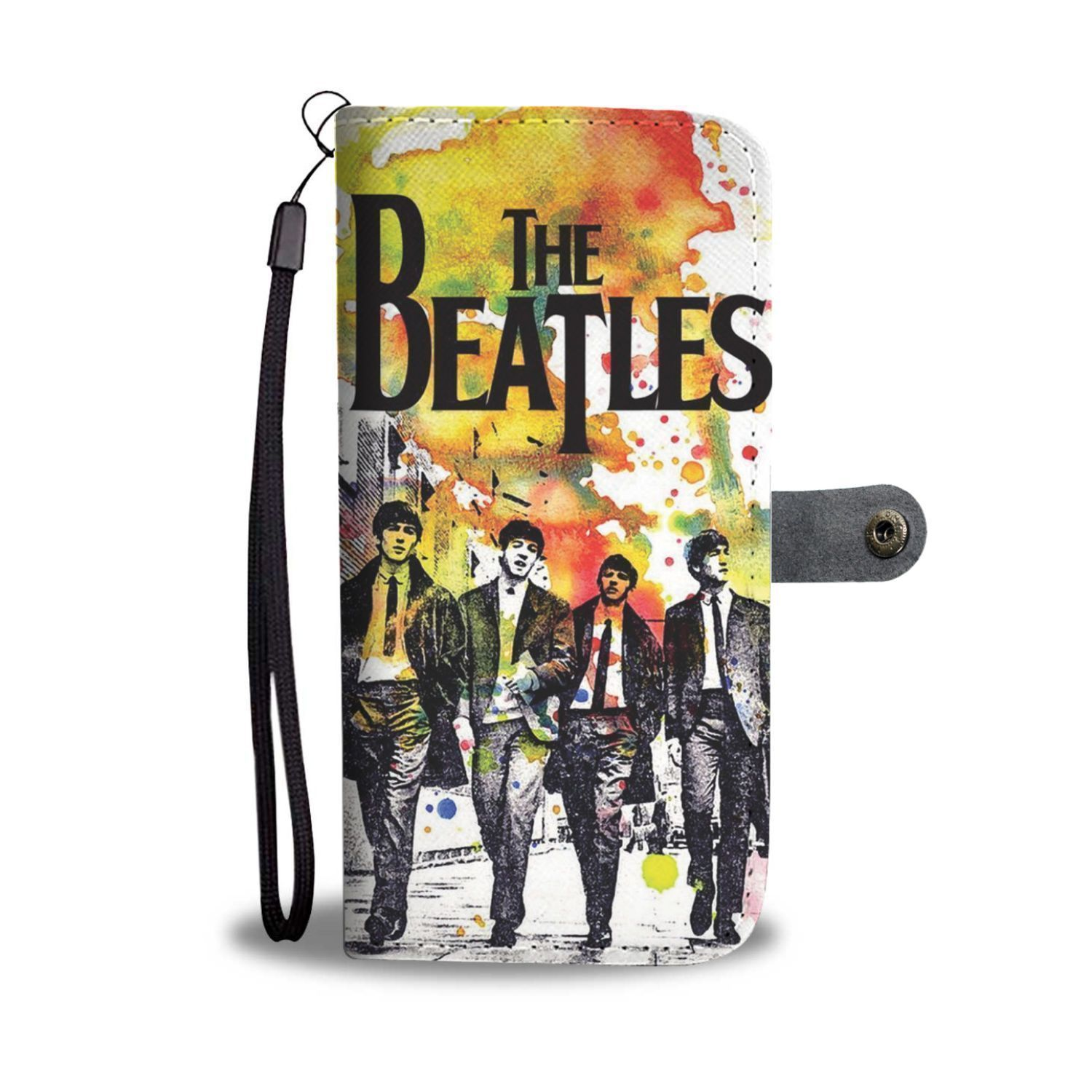 The Beatles Watermark Wallet Phone Case Nfl t shirts