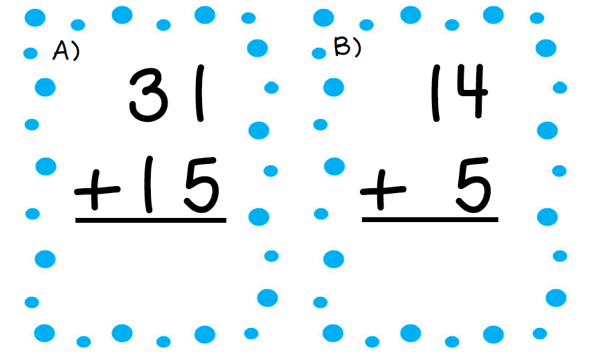 Double Digit addition without regrouping 2 player game