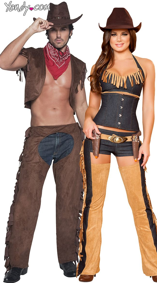 deluxe wild west wench costume - Mens Couple Halloween Costumes