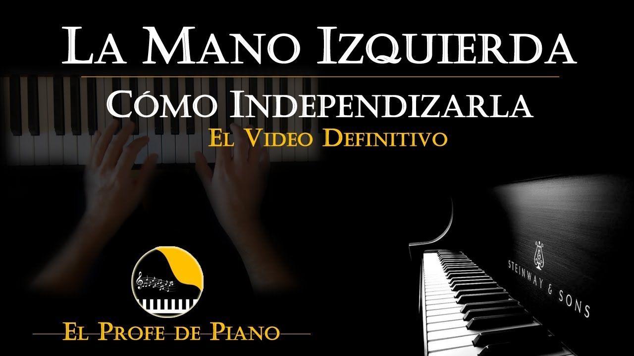 aprender a tocar piano mano izquierda