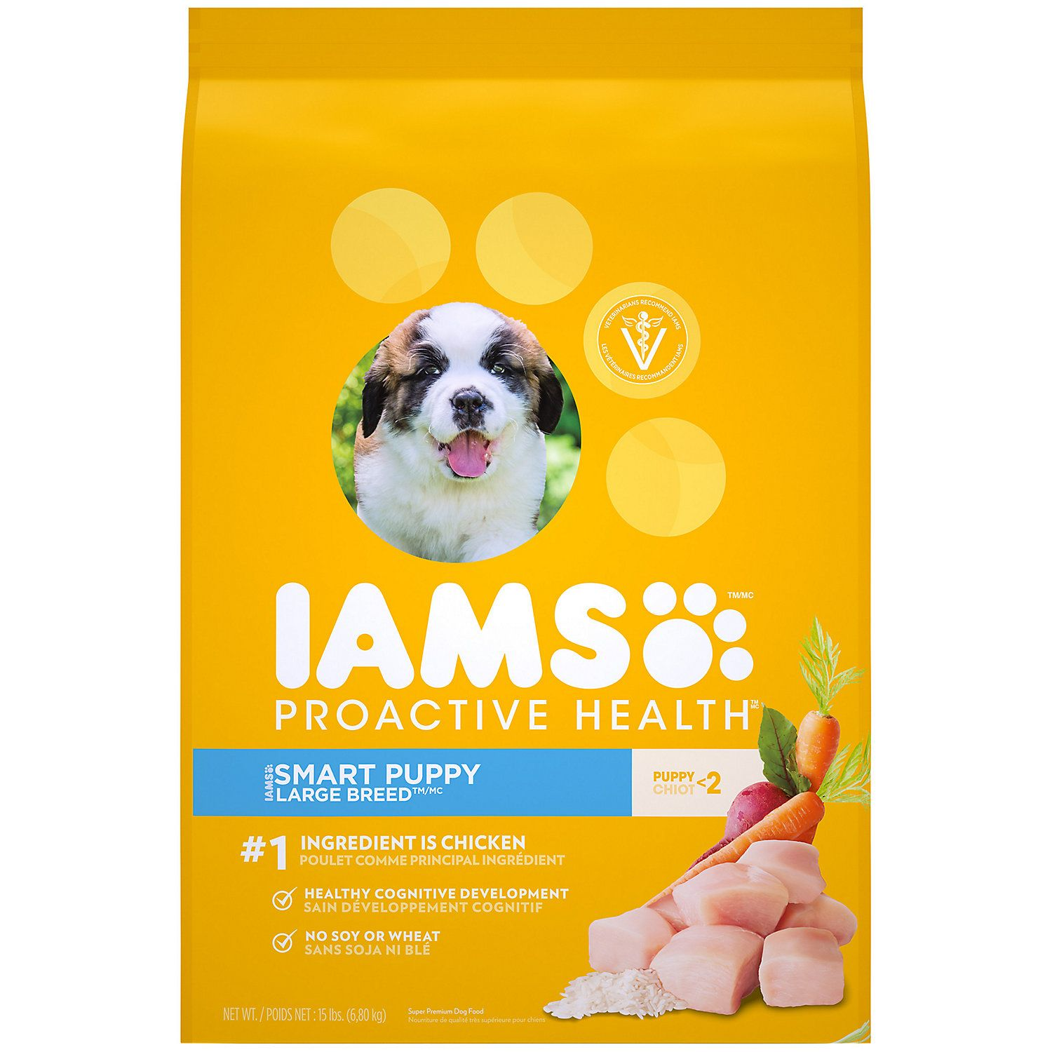 Iams Proactive Health Smart Puppy With Real Chicken Large Breed