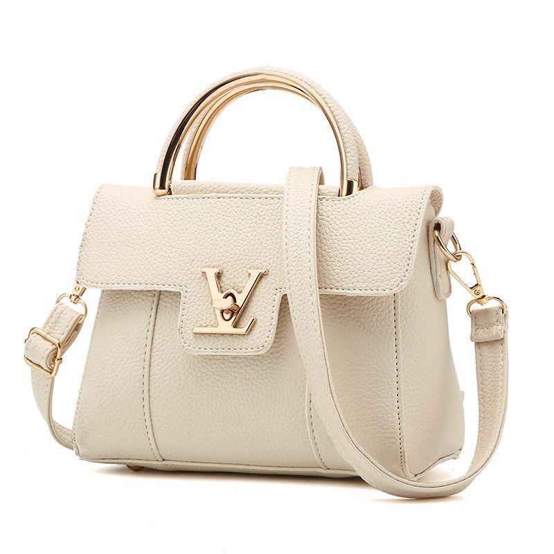 2017 Hot Retro Brand Famous Women Alligator Leather Handbag Tote Bag Designer Bags Crossbody