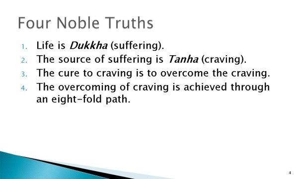 The Eightfold Path: Right Understanding of the 4 Noble Truths ...