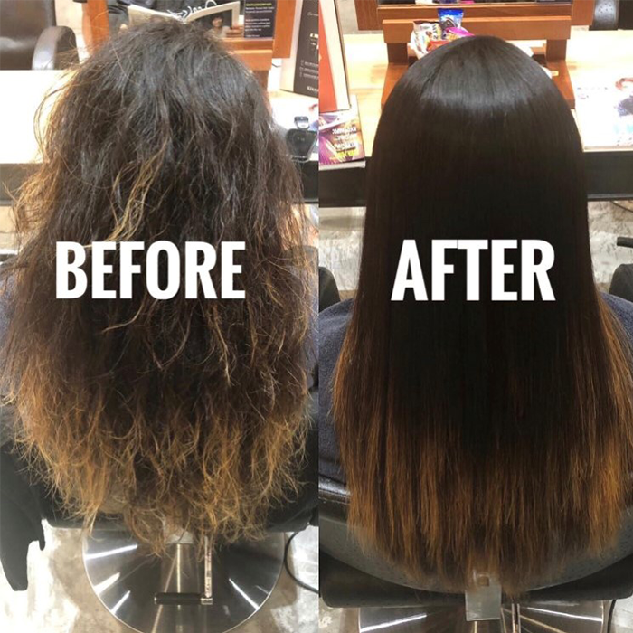 Antifrizz hair treatments in salons that will give you