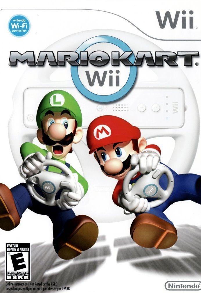 Mario Kart Wii Nintendo WII Game