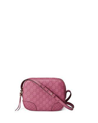 5f6e3c14f Bree Guccissima Leather Disco Bag Pink | Handbags I love | Gucci ...